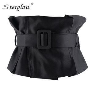 Di alta qualità casual sexy cinghie sottili corsetto femminile cintura cinturino da donna accessori moda bowknot ampia cintura A028 J190701