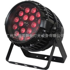 المهنية في الهواء الطلق بقيادة التكبير الاسمية DJ ضوء 18x10W RGBW 4IN1 LED للماء ضوء المرحلة جودة عالية 18PCS 10W RGBW DMX512 PAR64 IP65