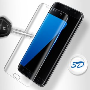 3D 9H Screen Protector For Samsung Galaxy S7 Edge S8 S9 Plus Note9 8 A5 A8 2018 Tempered Glass