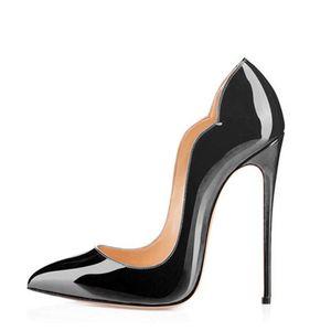 Frauen High Heels Hochzeit Schuhe Ferse Frau Purps Sexy Zapatos Mujer Tacon Schwarz Rot Damen High Heels Schuhe Party