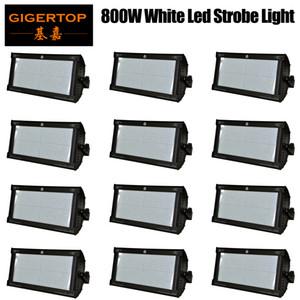 İndirim Fiyat 12 Birimleri 800 W Beyaz Renk DMX Led Strobe Işık Martin Strobe Flaş Işığı Stroboscope Sahne Etkisi Işık