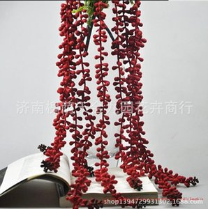 Stock Charming Love Tear Hanging on Wall Party Wedding Decoration Artificial Grass Decoration Decor Flower