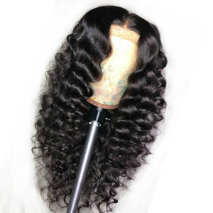 brown Black Wig  burgundy Wigs Lace Frontal 360 Brazilian Baby Hair Wig Pre Plucked Synthetic Lace Front  blonde With Wave Deep Letpv