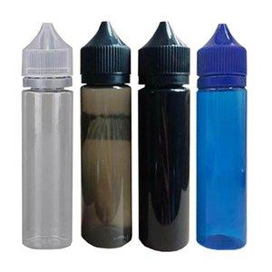 Videz Chubby Gorilla Bouteilles 30ml 60ml 100ml 120ml Pen forme plastique Dropper bouteilles avec des capsules pour E Tamper Evident jus liquide E