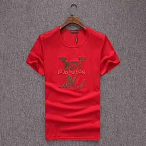 2020 Impreso en 3D diseñador de la camiseta de manga corta de los hombres para las camisetas de la novedad Pullover Ropa para Hombres Tops Con el patrón animal camiseta M-3XL