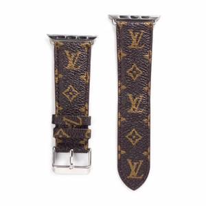 Модный дизайнерский браслет для Apple Watch Watchbands 40 мм 44 мм для iwatch Series321 роскошный браслет кожаные спортивные ремешки 38 мм 42 мм