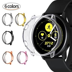 Intelligente Uhr Schutzhülle TPU beschichtet Anti-Fall für Samsung Galaxy Watch Active Watch Dial 46MM