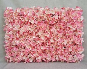 Ventes - Fleurs artificielles mur 40 * 60 cm Décoration de mariage mur destiné à la décoration festive fond de studio Décoration