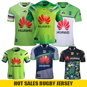 2020 Replica Nines Jersey Super Lega Rugby NRL Jersey 2019 CANBERRA Assaulter rugby Jersey Super NRL dimensione camicia adulti: S-3XL