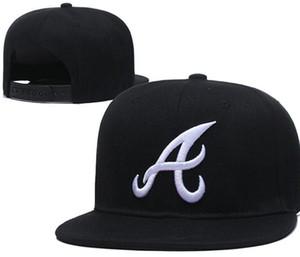 2020 Wholesale Adjustable Braves Snapback A Hats Outdoor Summer Men Basketball Caps Sun Visors Cheap Women Casquette Cap a02