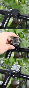 SunDing SD - 568AE Bike Computer Outdoor Water Resistant Bicycle Computer Cycling Odometer Speedometer with LCD Backlight