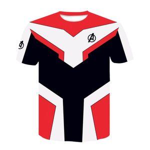 Avengers 4 Endgame T Shirt 3d Print 100% Polyester Shortsleeve Tshirt Quantum Realm Cosplay Clothing End Game Ypf266