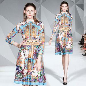 Parti Elbise Yeni Vintage Sarayı 3372 İnce Şık Uzun Kollu Moda Akşam Yemeği Prom Tarihi Kadınlar Elbiseler yazdır Arrive