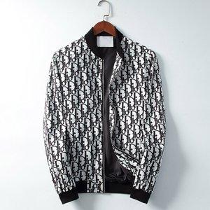 mens 2020 autumn clothes Fashion Mens Jacket Coat Printed high quality Mens Hoodie Casual Sport veste male 3XL Female jackets windbreak 02