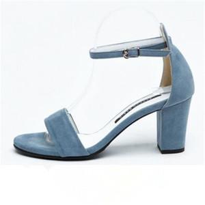 DIWEINI 2019 Новых горячих продажи женщин сандалии флок летних туфель простые пряжек партии свадебные туфли сексуальной высокие каблуки