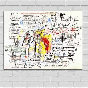 Jean Michel Basquiat Fallout Paintings Boxer Rebellion,HD Canvas Printing New Home Decoration Art Painting (Unframed Framed)