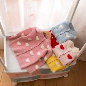 Paragraf Çocuk Triko Kız Polikromatik Tüm Vücut Aşk Hırka Ceket 0201