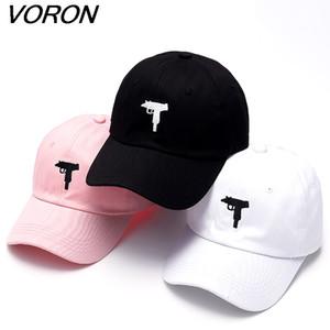 Voron Uzi gun Beyzbol şapkası ABD moda 2017 Snapback Hip hop kap erkekler HEYBİG eğrisi visor 6 panel baba şapka casquette de marque