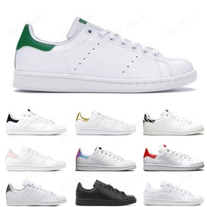 Stan Smith Cheap smith men women flat Designer sneakers green black white blue oreo rainbow stan fashion Casual mens trainer outdoor sports shoes 36-44