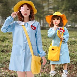 fV84b Nursing staff improved daily kindergarten parent-child activities autumn travel activity including schoolbag Bag clothing Nursing clot