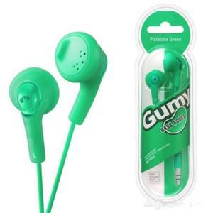 Hot Gumy Наушники-вкладыши Наушники Наушники HA F160 Наушники Gumy с внутренним ухом Стерео наушники с удобной посадкой, звукоизоляция, нано-цвета Free