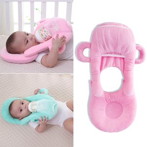 Bebek Bebek Hemşirelik U-şekilli Yastık Yenidoğan Bebek Besleme Desteği Yastık Yastık Önleyin Düz Kafa Pedleri Anti-tükürme Süt