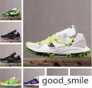 2020 Zoom Terra Kiger 5 atletica leggera Running Shoes Verde Nero uomini bianchi all'aperto tacchetti Sport formatori Mens Designer dimensione Sneakers 40-45