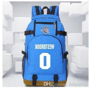 الأرجواني Westbrook نجمة راسل حقيبة الأزرق المدرسية حزمة أفضل حقيبة الظهر كرة السلة الأحمر يوم المدرسة الرياضة حقيبة الظهر daypack ظهره evssu