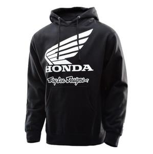 TLD Honda гоночный костюм толстовка мотоцикл езда свитер рыцарь ударопрочный костюм скорость падение костюм флисовый свитер
