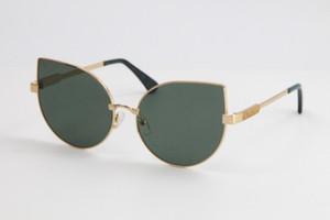2020 Ücretsiz nakliye Baker Lin Metal Güneş Kadınlar tasarımcı Gözlük Kadın Kedi Göz Güneş Gözlükleri Yeni Yapımı Shen Zhen Boyutu: Sıcak 59-16-145mm