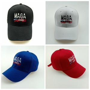 MAGA قبعة الرجال قبعة التطريز 2020 قبعة دونالد ترامب القبعات MAGA ترامب دعم قبعات البيسبول الرياضة قبعات البيسبول MMA2473