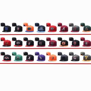 Новый летний моды бейсбол Snapback шапки футбол колледж Snapback Шляпы университет Колпачок для menwomen Casquette Спорт Hip Hop спортивной кепке