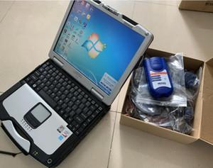 NEXIQ2 USB Link 2 Diesel-LKW-Schnittstelle NEXIQ 125032 mit allen Installateuren Laptop CF30 Touch Computer