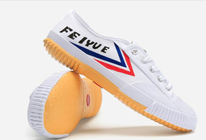 Nouveau Feiyue original classique en toile Chaussures lacées arts martiaux Taekwondo Taichi Kungfu hommes doux confortables chaussures femmes chaussures Taille EU35-45