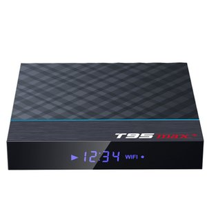 T95MAX + Network Player Smart Set-top Box TV BOX S905X3 32G Wi-Fi BT Android 9.0 TV Box 4GB / 32GB 4GB / 64GB 2GB / 16GB