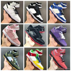 Dunk Low SB TRD QS Preto Pigeon a pomba da paz Running Shoes das mulheres dos homens alta qualidade limitada Formadores de lançamento Sports Sneakers Schuhe
