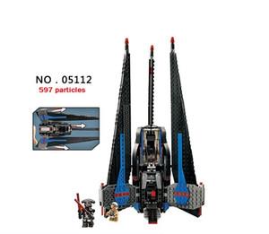 05112 Le chasseur de type I chasseur de combat assemble un modèle de jouet pour enfants