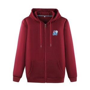 Iceland Football Team Polo Soccer Sports Fashion Sweater Men's Football Outdoor Jogging Warm Clothing Casual Comfortable Jacket