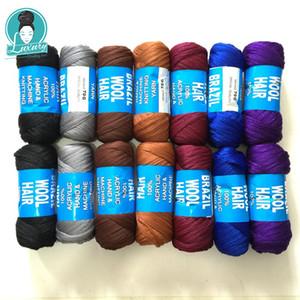 Para trança 14bundos 70g por pacote de lã brasileira Baixa tempratura chama retardador de fibra sintética para tranças de caixa