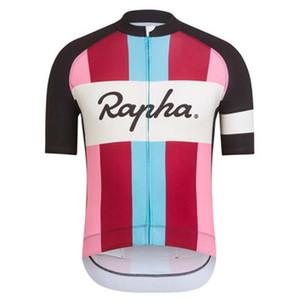 2019 RAPHA équipe Tour de France Cycle Clothes maillot de sport hommes maillot manches courtes maillot cycliste ropa maillot ciclismo Y032908