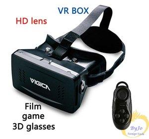 RITech II Monte Chefe Versão VR Realidade Virtual Óculos Magnet Google Cardboard para 3.5-6 polegadas e controlador de Bluetooth