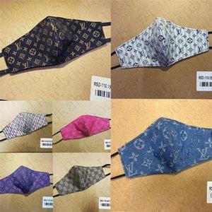 Masque lait fibre et double couche maille adulte Masque Lettre sunproof Vélo Bouche Couverture sunproof Facemask pour hommes et femmes D52808