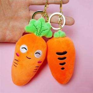 Творческое моделирование плана Морковь Плюшевые игрушки Мягкие тела Морковь мягкая игрушка Аромат Маленький кулон для детей подарка