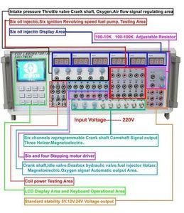 Super MST 9000+ réparation automatique ECU Palpeur Signal Simulator ECU outil de programmation MST9000 + meilleure qualité