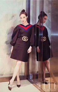 الساخنة الألوان أسود جديد إمرأة أحزمة عالية الجودة كبيرة أحزمة اللؤلؤ للنساء أساليب ريم ceinture السمة الاختيارية مع مربع هدية 8698