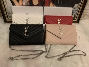 2019 New Fashion Shoulder Bags Chain Men's and Women's Classic Handbags PU High Quality Crossbody Bags Hot Sale 1A22