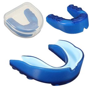 Silicone Mouth Guard Gum Shield Grinding Teeth Protector For Boxing MMA Basketball Football Karate Muay Thai