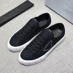 De alta qualidade sapatos casuais! couro superior sapatos de grife moda de alta qualidade lona homens sola grossa e confortáveis sapatos casuais das mulheres 35-44
