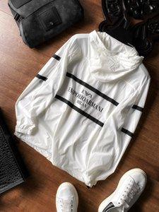 mens 2020 luxury designer clothes AMN logos Thin section sun-protective Jacket Coat Sweatshirts Sports Streetwear Outdoor Hoodie
