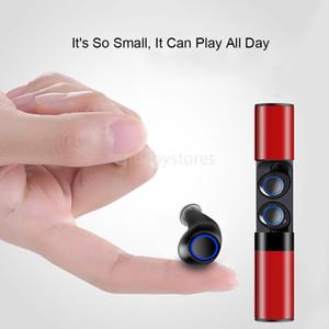 سماعة الأذن الجديدة الواصلة اللاسلكية Bluetooth Headset S2 Mini Tws Magnetic Charging Earbud In-earphone For Iphone Samsung UV8P